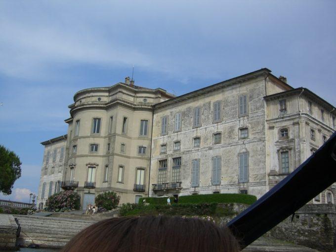イタリア旅行ベッラ島宮殿
