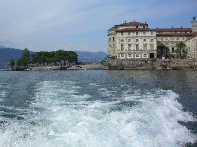 イタリア旅行マジョーレ湖