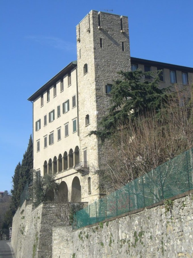 イタリア旅行 ベルガモ旧市街
