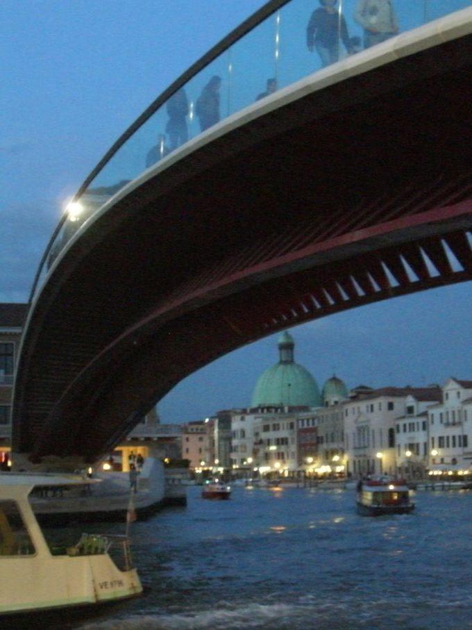 ヴェネツィア カラトラバ 橋