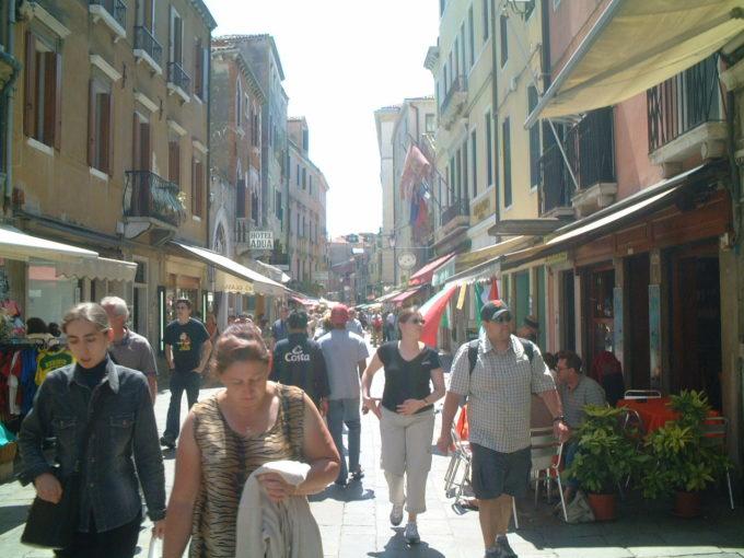 ヴェネツィア中心市街
