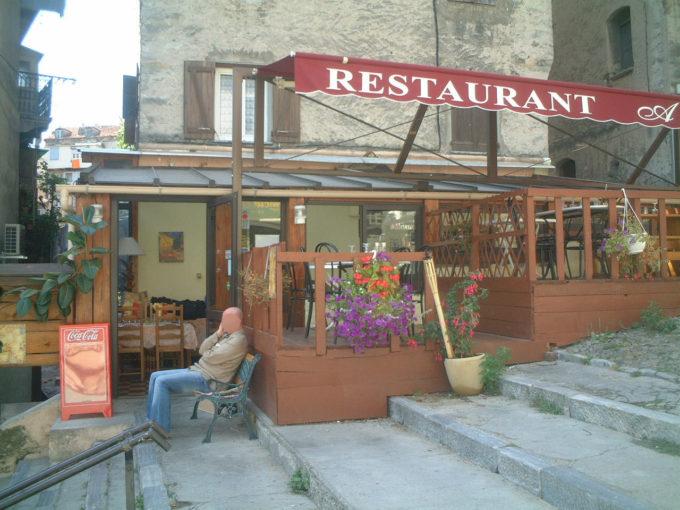コルシカ レストラン