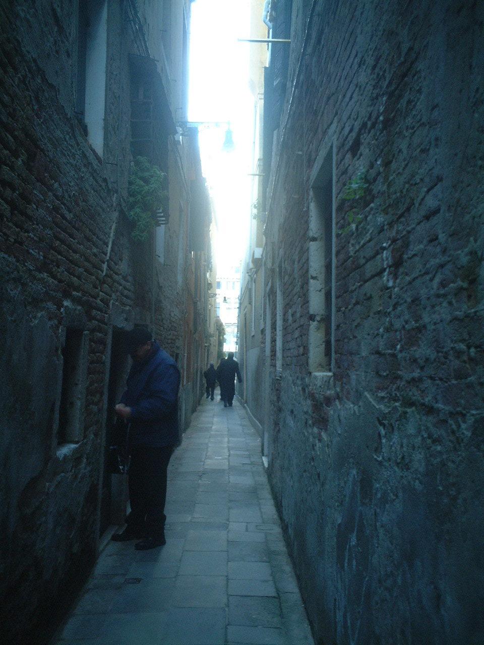 ヴェネツィア 路地