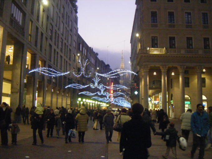 ミラノ夜景