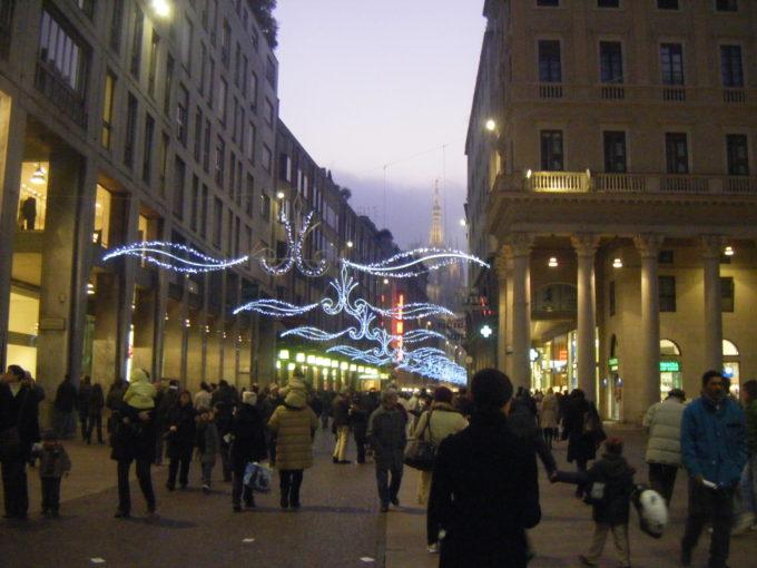 ミラノ 冬